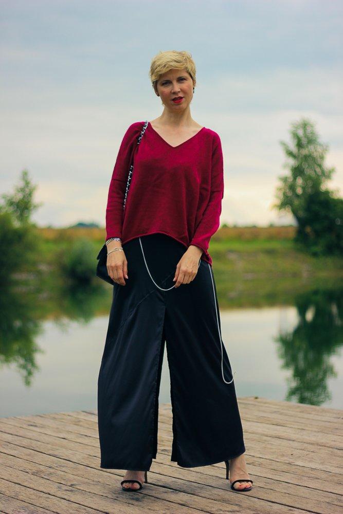 Lingerie-Sommerkleid im Zwiebellook - kein Outfit, um damit zu sitzen