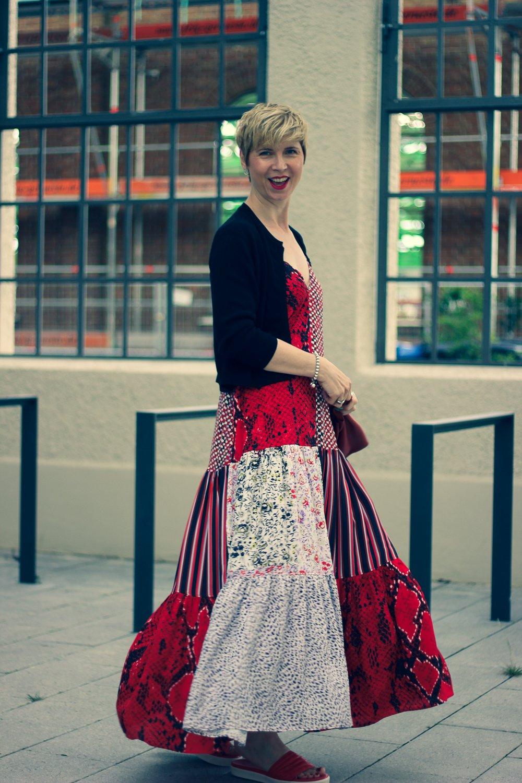 conny doll lifestyle: Cardigan, Sommerkleid, Sommerlook, LaLa Berlin