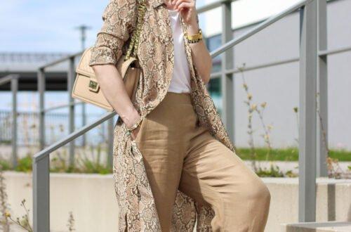 conny doll lifestyle: Loungewear schick gestylt fürs Büro und den Urlaub zu Hause