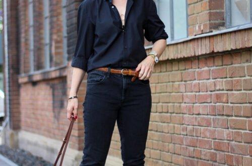 conny doll lifestyle: Wie style ich ein Männerhemd - ein lässiges Kleidungsstück für die Frau