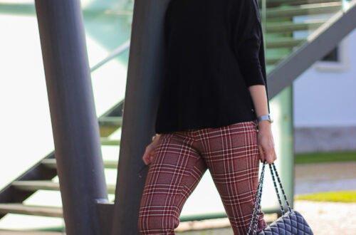 conny-doll-lifestyle: Herbstkollektion von TONI-Fashion - besonderes Karo-Thema edgy kombiniert