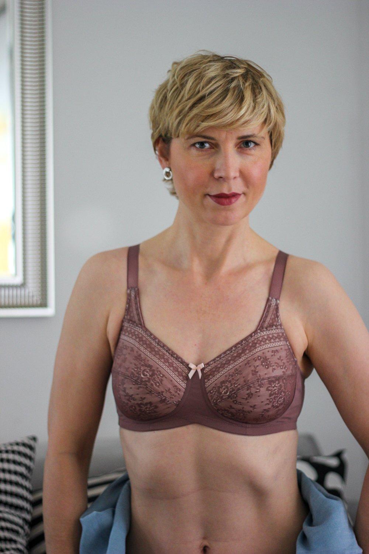 conny doll lifestyle: Anita cares, Büstenhalter für Brustprothesen, Fleur, Farbton Berry