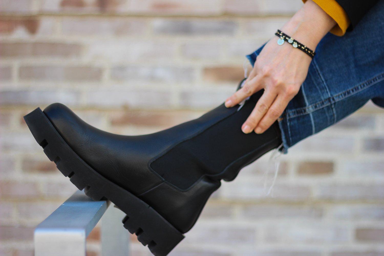 conny doll lifestyle: Chunky-Boots - der klobige Schuhtrend ist so lässig