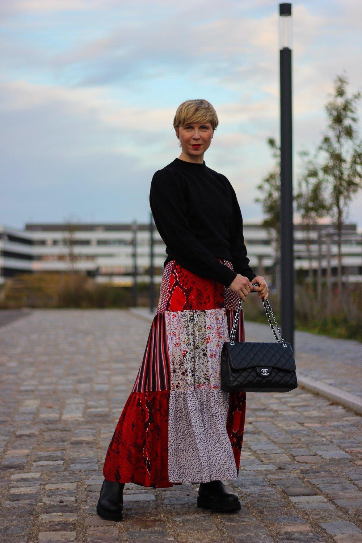 conny-doll-lifestyle: Sommerkleid herbstlich gestylt - dubiose Shops im Netz
