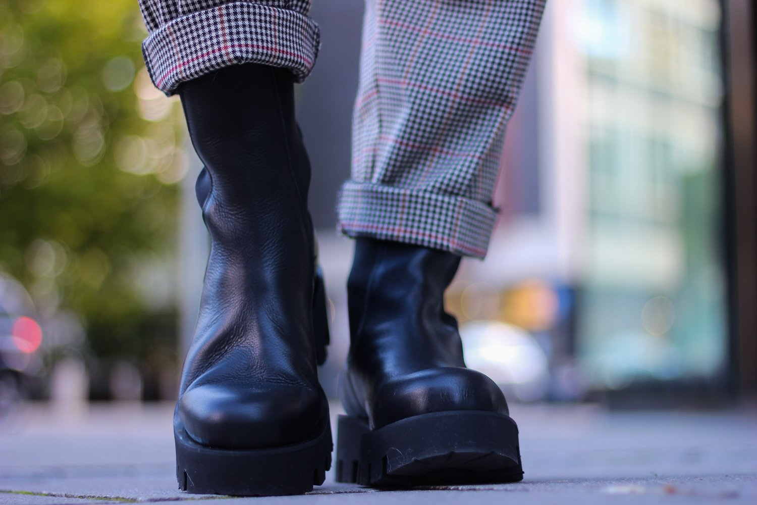 conny doll lifestyle: Herbstlook, Musthave, Boots, derbe Stiefel, Sohle