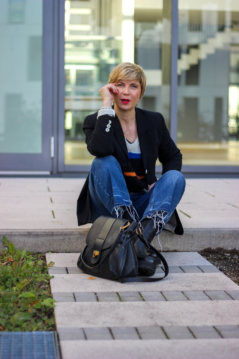 conny doll lifestyle: Jeans-Culotte - Was beachte ich beim Styling?