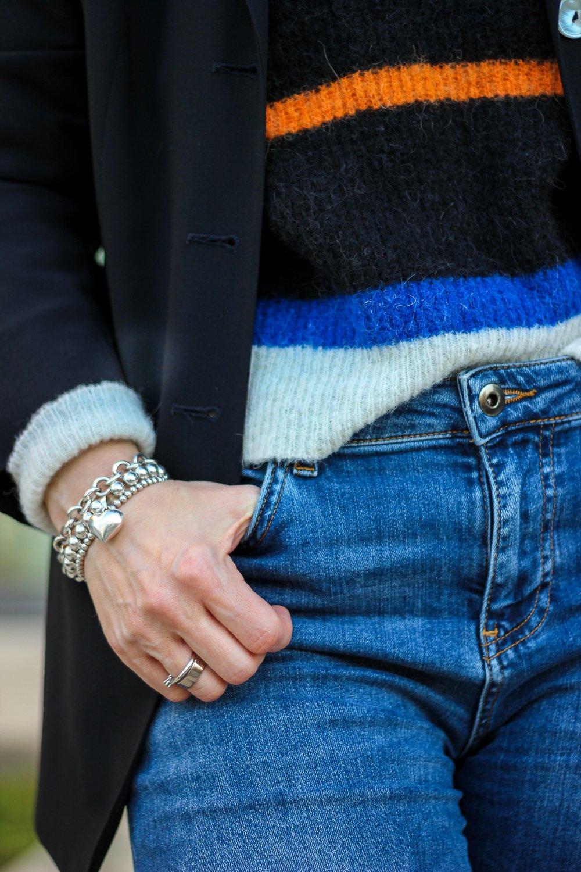 conny doll lifestyle: Details, Denim, Pullover, Blazer, Herbstlook