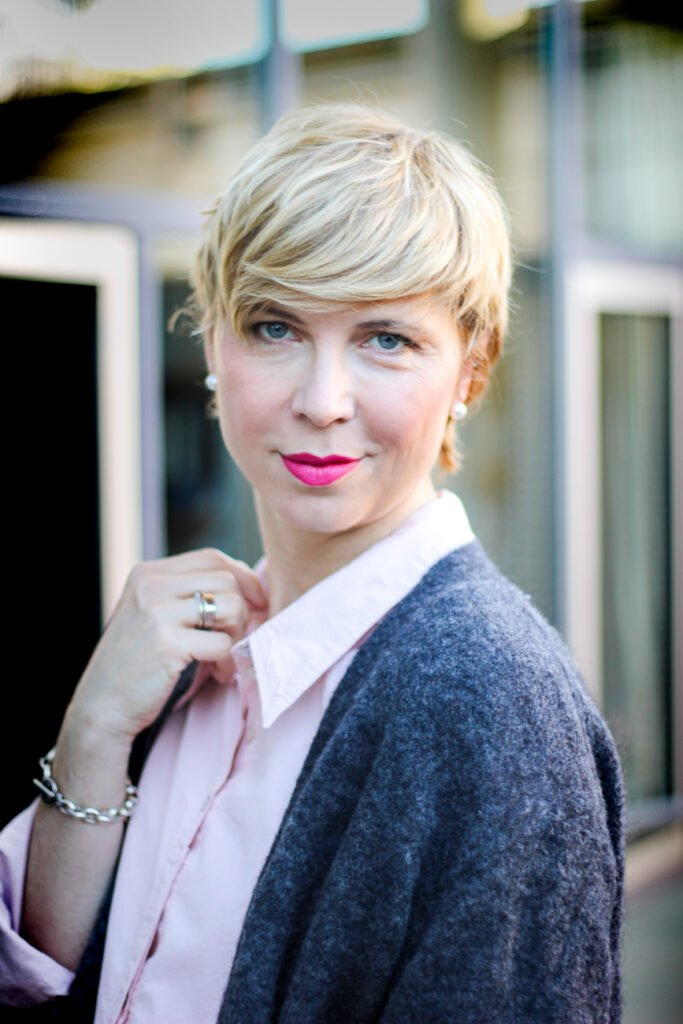 Gut aussehen im Schlabberlook - Outfitidee für Frauen über 40