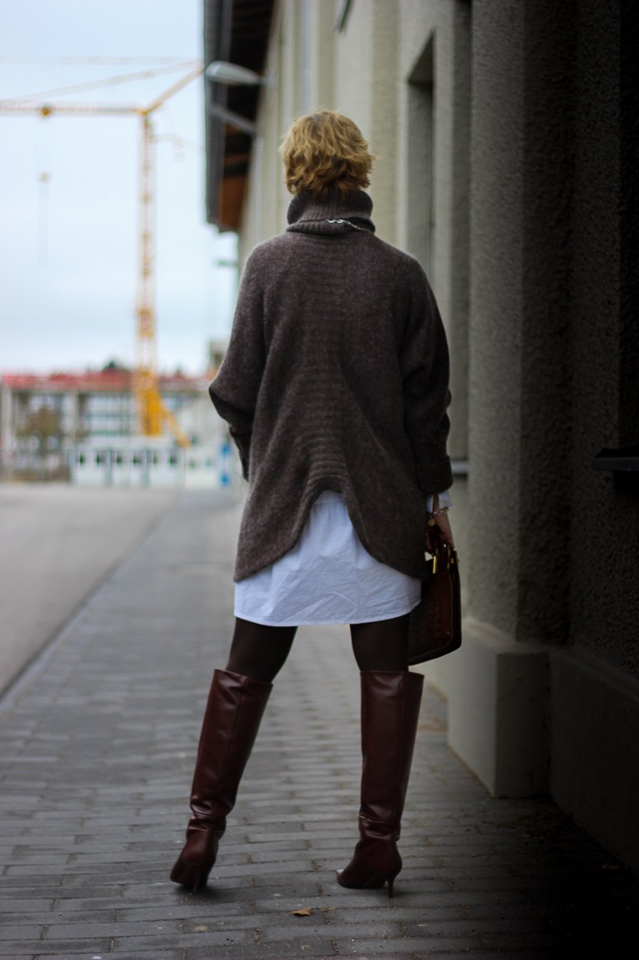 conny-doll-lifestyle: Sommerkleid im Winterlook stylen - und ein Mann im Hom(m)eoffice