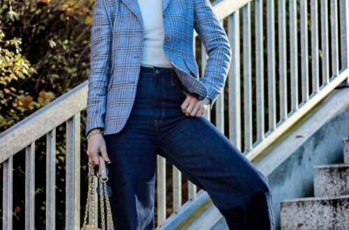 conny doll lifestyle: Ribcage Jeans - Outfitinspiration mit Jeans für Business casual