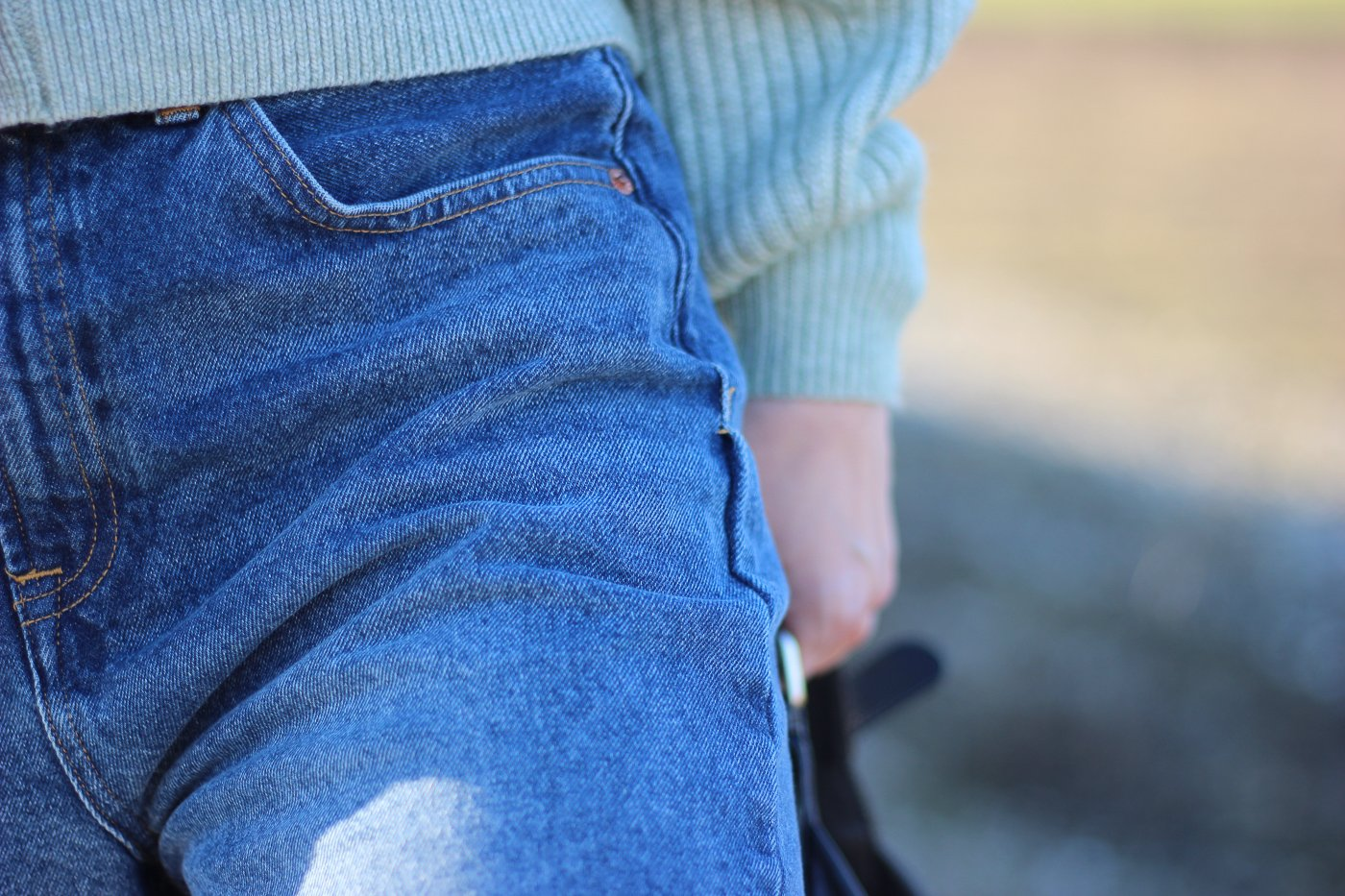 conny doll lifestyle: Details Jeanshose, Winterlook