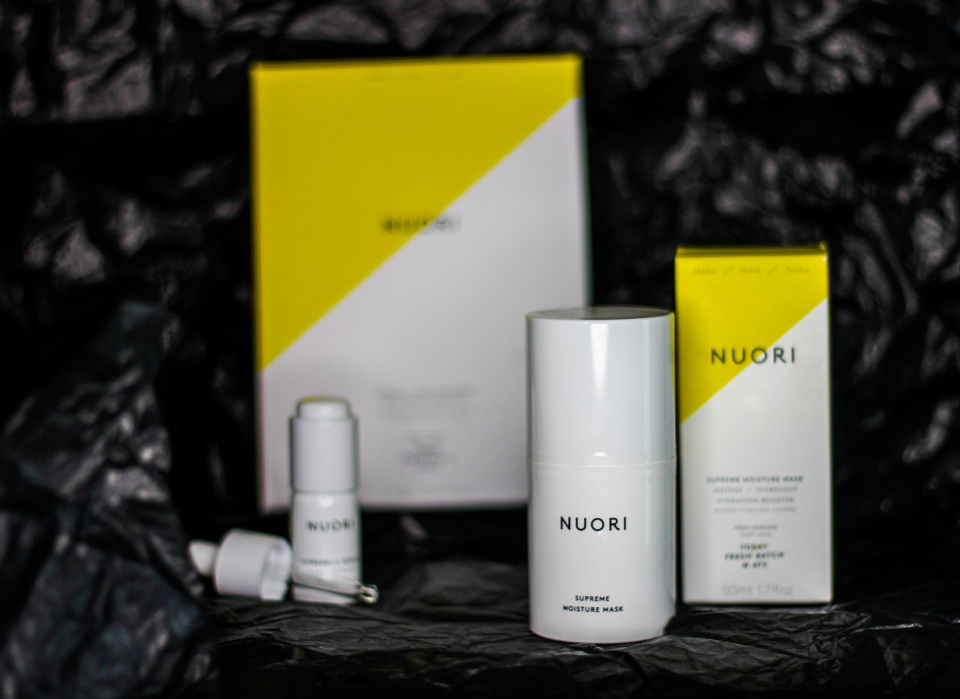 Hautpflege: Ein Power-Duo mit Vitamin C für den frischen Glow von NUORI