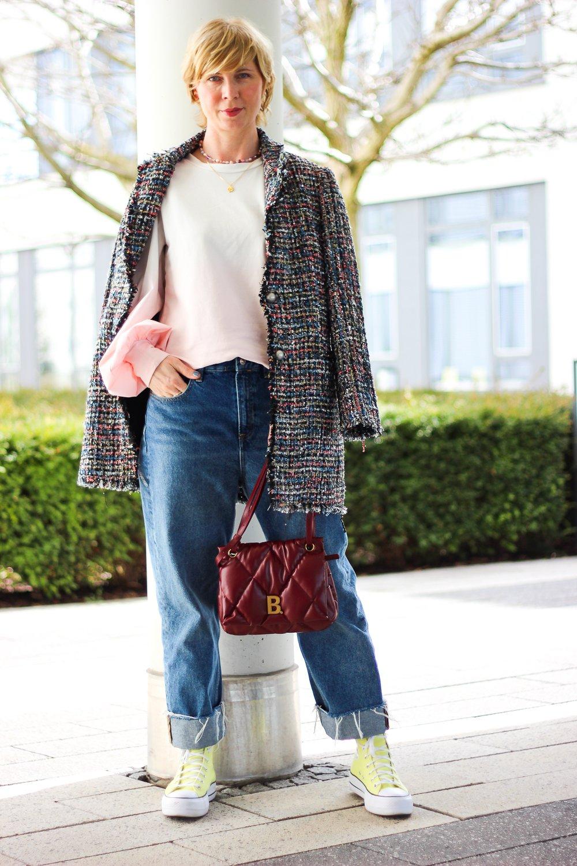 conny doll lifestyle: Bouclé-Blazer als Jacke - eine Geschichte aus dem Leben