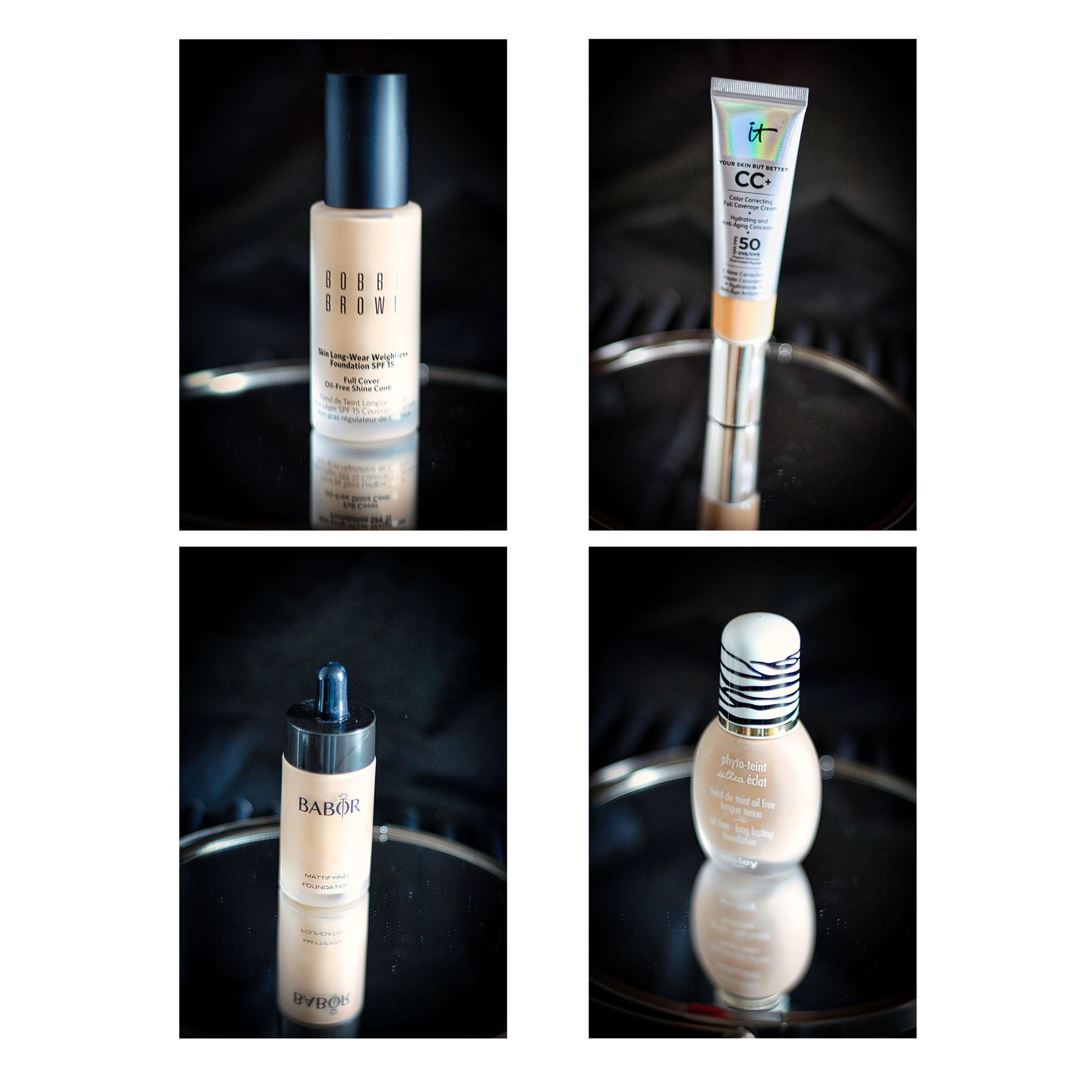 conny doll lifestyle: foundations, collage, makeup, teint