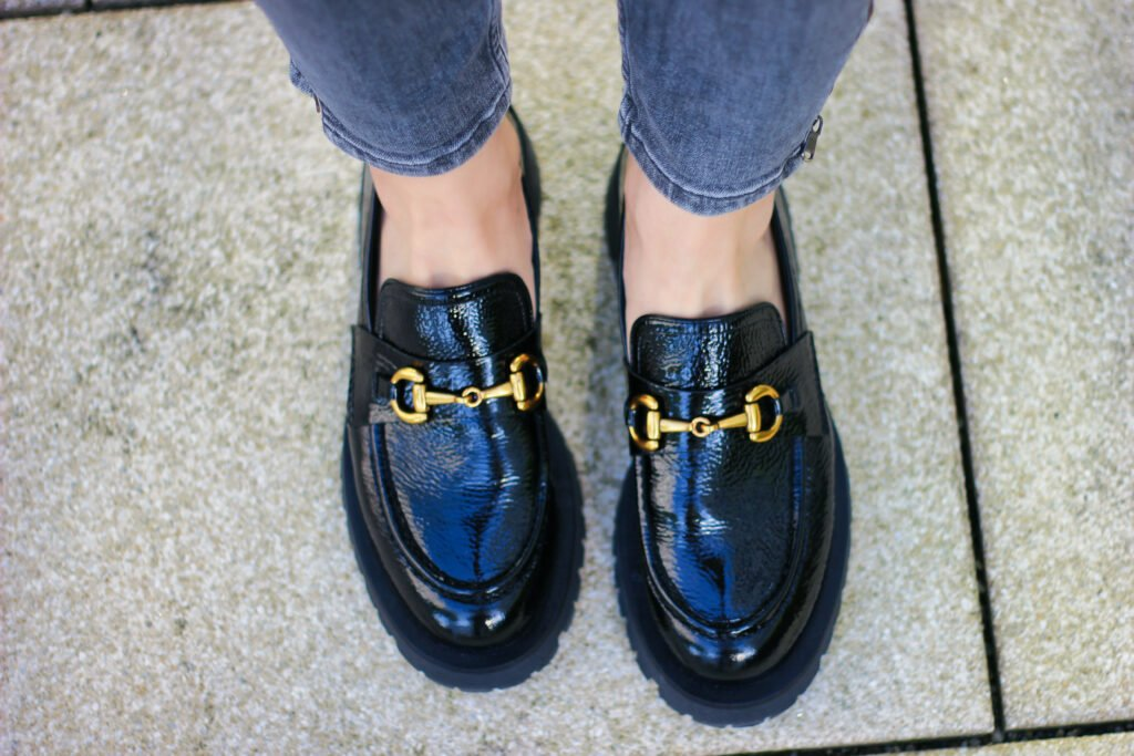 conny doll lifestyle: Loafer mit derber Sohle - flache Schuhe zum Herbststyle